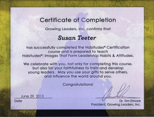 Habitude Certification