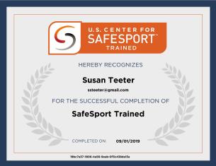 safe sport cert